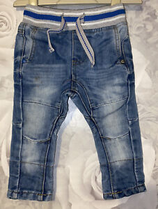 Boys Next 6-9 Months - Next Pull On Jeans