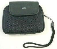 PalmOne Palm One Zire 72 PDA velcro soft case w/ wrist loop BLACK