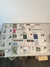 Great Britain Collection of 56 Covers Mostly FDC's