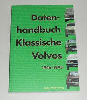 Datenhandbuch Volvo PV 444 544 Amazon 121 122 123 P 1800 140 240: Bj. 1946-1993