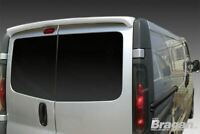 Rear Roof Spoiler For Vauxhall Opel Vivaro 2002-2014 Barn Door Painted (PU) Kit