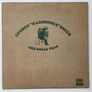 George Harmonica Smith Arkansas Trap Original 1971 Deram/London Lp NM- Blues