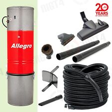 NEW!! Allegro Central Vacuum System 30' Hose and Attachments - Built in Vac