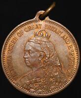 1837-97   Victoria Diamond Jubilee Lauer Nurnberg Medal   Medals   KM Coins