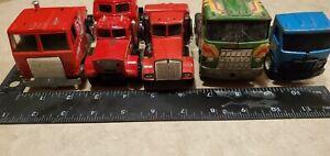 Lot of 5 semi tractors