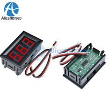 2pcs Red Led Panel Meter Mini Digital Voltmeter Display Dc 0v To 999v