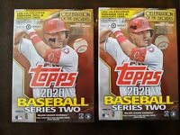 Lot of 2 ~ 2020 Topps Series 2 Blaster Box ~ TATIS Insert ~ LUIS ROBERT RC? PSA!