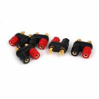 5pcs Speaker Amplifier Terminal Dual Binding Post Banana Female Connectors