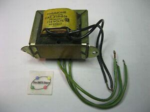 Hammond 166G36 Transformer Type-C 115V PRI 36V SEC C.T. 60 Hz 0.5A - Used