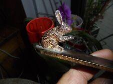 Brûle Batons Parfum d'Encens en Bronze au Lapin
