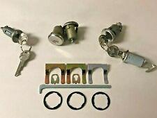 NEW 1966 BelAir, Impala, Caprice & Biscayne Complete OE style Lock Set- GM Keys