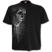 Spiral Direct BAT CURSE Mens T-Shirt, Goth, Biker, Rock, Skulls, Metal, Clothing