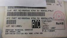 3915 X ATC 0603WL470JT RF INDUCTOR