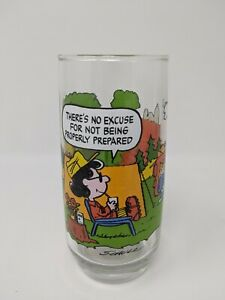 Lot of 4 Vtg McDonald/'s Camp Snoopy Collection Glasses Schulz Promo /'65 68 /& 71