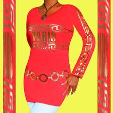 Damen  Tunika  langarm  gold  Longshirt  36  38  S  M  (Farben  40  42  im Shop)