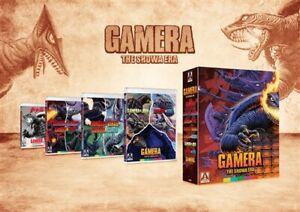 GAMERA SHOWA ERA COLLECTION New Blu-ray All 8 Films Barugon Gyaos Viras Guiron