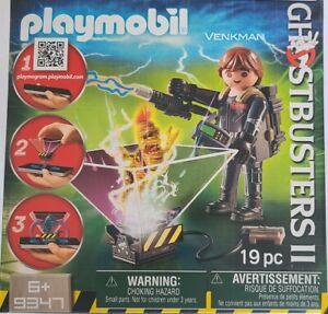 GhostBusters II VENKMAN Playmobil Playmogram 3D #9347 19pc. New Sealed toy 3+