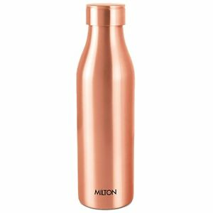 Milton Copper Water Bottle,930 ml, Copper,Brown, medicinal and Ayurveda benefits