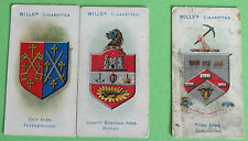 Cigarette Cards WD & HO Wills Borough Arms 3rd Ser. Grey & Red Clause 1905 85