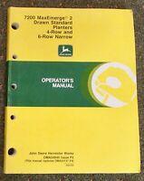 John Deere 7200 MaxEmerge 2 Drawn Standard Planter Operator's Manual OM-A54940