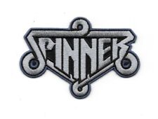"Blade Runner Movie Spinner Car Logo Embr. 4"" Sewn/Iron On Patch, Blue Version"