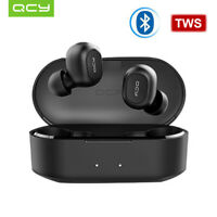 Global QCY T2C Wireless Earphones Dual Stereo BT Headsets With Charging Box B0U3