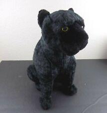 "Disney Parks Jungle Book Bagheera Black Panther Jaguar Plush 14"" Vintage RARE"