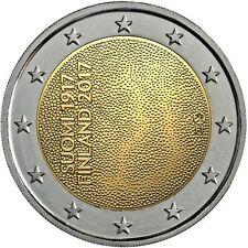 FINLANDIA 2 EURO 2017 - 100 AÑOS DE INDEPENDENCIA - SIN CIRCULAR