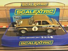Scalextric Digital Ford Escort MK1 RS 1600 Rally Car Uniflo No1 Mint & Boxed