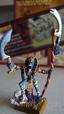 WARHAMMER FANTASY TOMB KINGS ARMY LICHE PRIEST METAL PAINTED OOP RARE #254