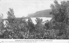 La Crosse Wisconsin Mississippi River Bluffs Antique Postcard K81162