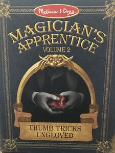 REPLACEMENT PARTS Melissa & Doug Magician's Apprentice 2 Thumb Tricks Ungloved