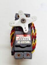 Hitec HS-6975HB Coreless Digital Radio Control Aircraft Servo Free Shipping