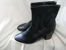 LADIES BLACK ANKLE BOOT SIZE 7 1/2
