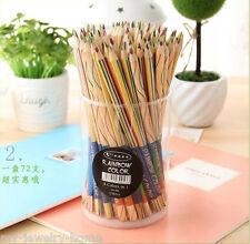 Child Rainbow Pencils 4 in 1 Color Pencil Children Painting Writing Pens School