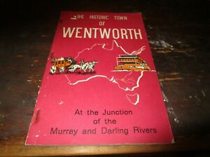 HISTORIC TOWN OF WENTWORTH. JUNCTION OF MURRAY & DARLING RIVERS. NEW SOUTH WALES