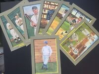 Lot of 43 UNSIGNED PEREZ STEELE GREAT MOMENTS Cards Jackie Robinson Babe Ruth