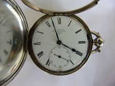 More details for antique jas. mccabe double hunter silver pocket watch