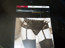 10 denier black stockings Large size. Private