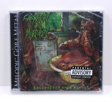 Laboratory of Mortuary - Splattered Then Decays CD 2009 New/Sealed Death Grind