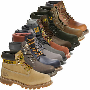 Mens Caterpillar Colorado Classic 6inch Work Style Boots Sizes 6 to 13