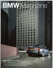BMW Magazine Summer 2002 UK Market Sales Brochure 5-Series M Z8