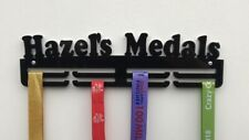 Thick 5mm Acrylic Personalised Custom 2tier  Medal Hanger / holder