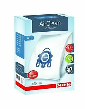 Genuine Miele Type GN Vacuum Cleaner Bag AirClean 3D Efficiency Canister Bags