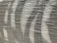 gorgeous lush grey and silver curtain fabric  144cm wide blind light upholstery