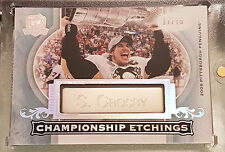 2015-16 UD The Cup Sidney Crosby Championship Etchings.......BEAUTY!!!