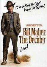 Bill Maher - The Decider [DVD] NEW!