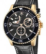 Thomas Earnshaw Admiral Men's Watch Automatic Gear Reserve Date Glass Bottom