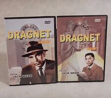 Dragnet Vol 1&2 Jack Webb Joe Friday  Classics TV Police Drama 3-Episodes-each