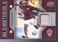 2011 MLS Premium Materials Jersey Omar Cummings #/50
